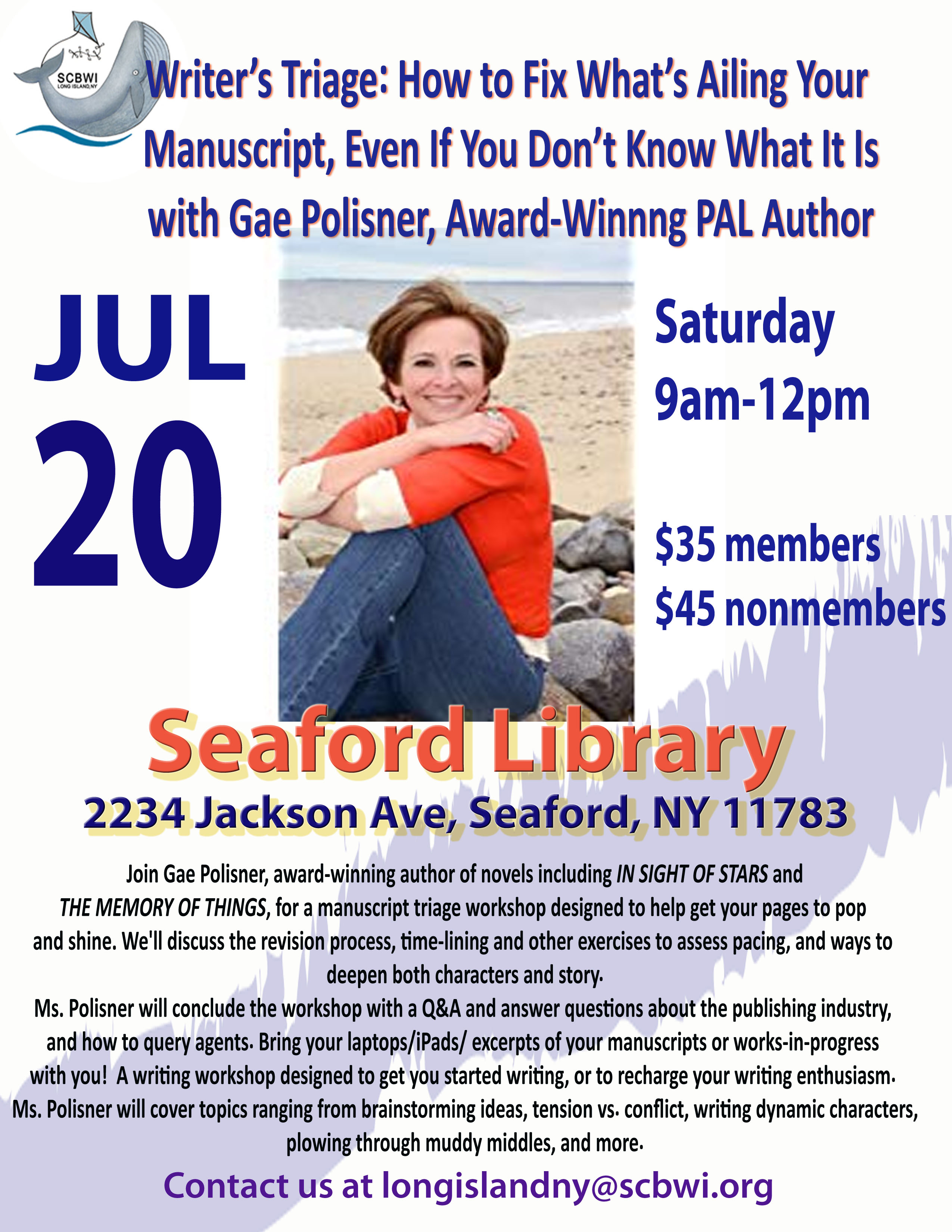 Gae Polisner's Website Click Here to Sign up and Register