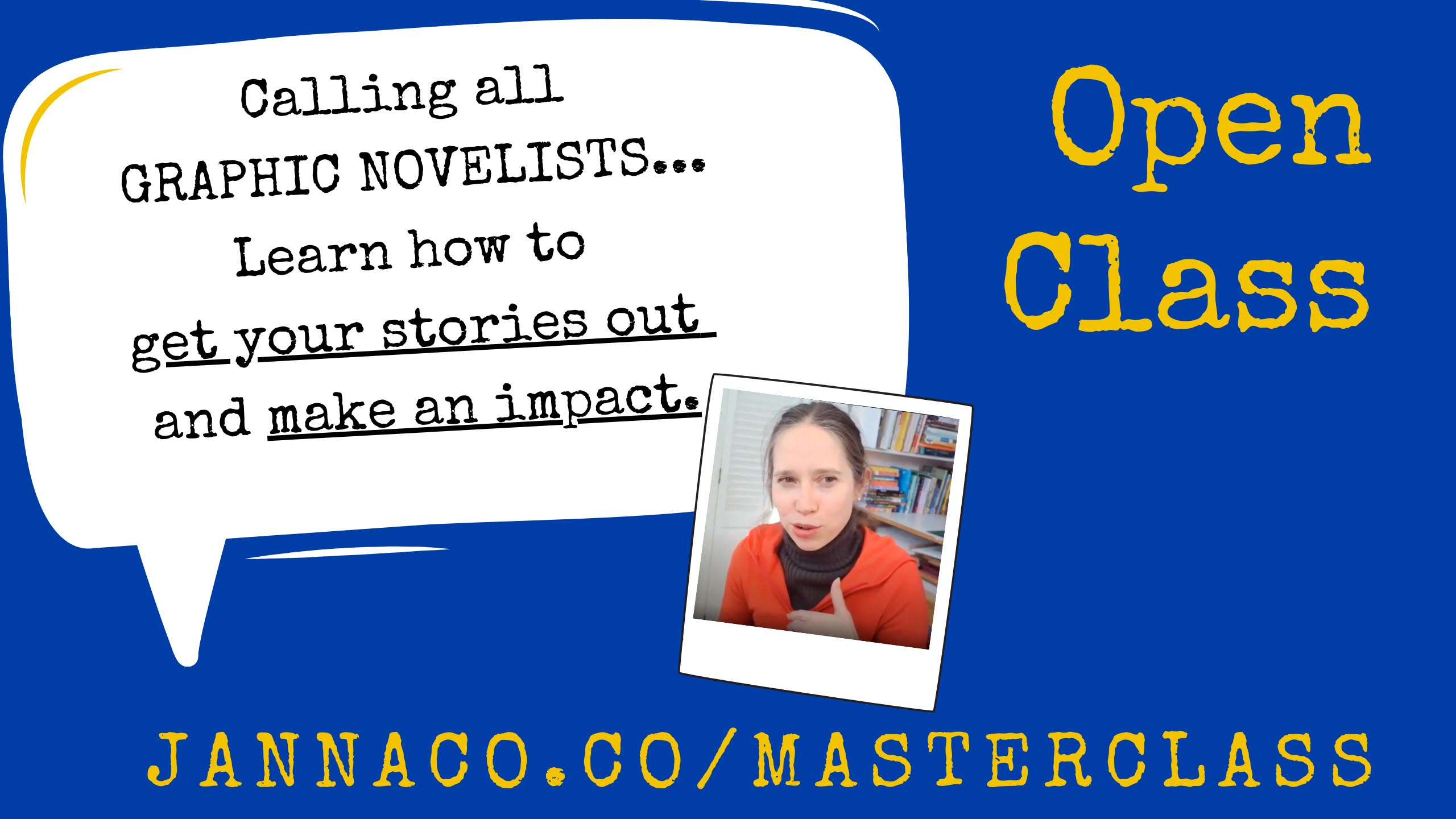 Want to learn more about how to build a successful career as a graphic novel creator? Join a free masterclass series taught by Janna Morishima, agent, and founder of Kids Comics Unite, starting on Saturday, Jan. 30th. Register here: https://jannaco.co/masterclass/